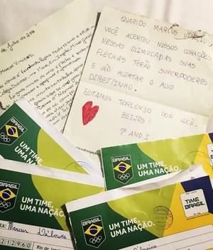 Carta Marcus D´Almeida Time Brasil (Foto: Reprodução Instagram)