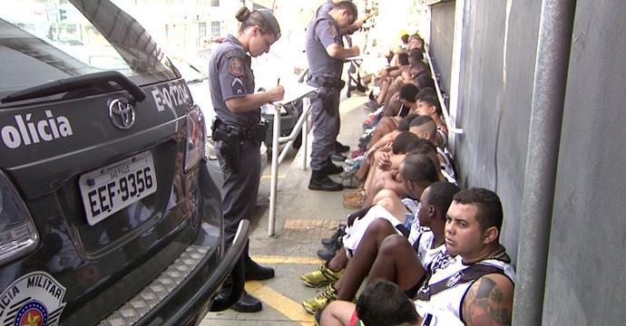 Briga Ponte x São Paulo (Foto: Reprodução EPTV)