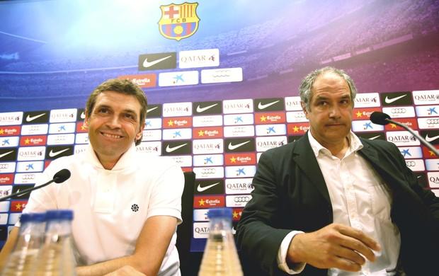 Tito Vilanova Andoni Zubizarreta Barcelona (Foto: Reprodução / Site Oficial)