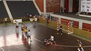 Campeonato Brasileiro Escolar de Handebol em Trindade (Foto: Reprodução/TV Anhanguera)