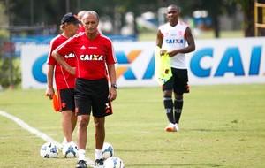 Jayme flamengo treino (Foto: Gilvan de Souza / Flamengo)