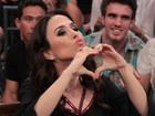 Tatá Werneck e Gloria Maria mostram talento como cantoras no Altas Horas