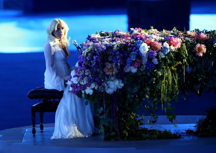 Jogos Europeus cerimônia de abertura Lady Gaga (Foto: Getty Images)
