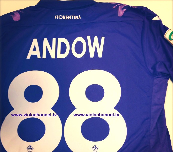 camisa Anderson Fiorentina (Foto: Reprodução / Instagran)