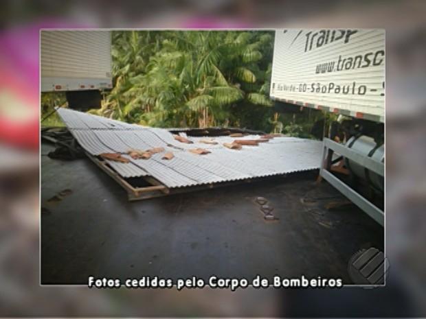 Acidente balsas marajó (Foto: Reprodução/TV Liberal)