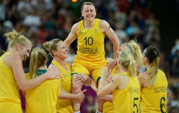 Austrália basquete feminino Rússia (Foto: AFP)