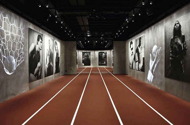 Emotions of the Athletic Body at Armani Silos. (Foto: ALBERTO ZANETTI)