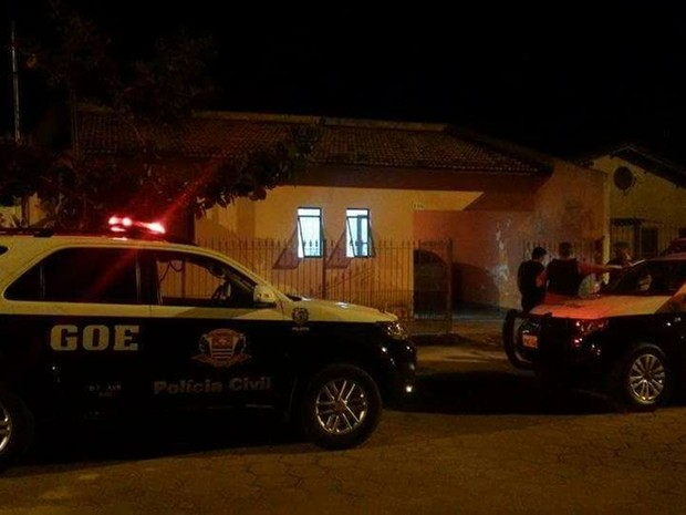 Segundo a Polícia Civil, o mentor da quadrilha foi identificado e está foragido (Foto: Divulgação/Polícia Civil)