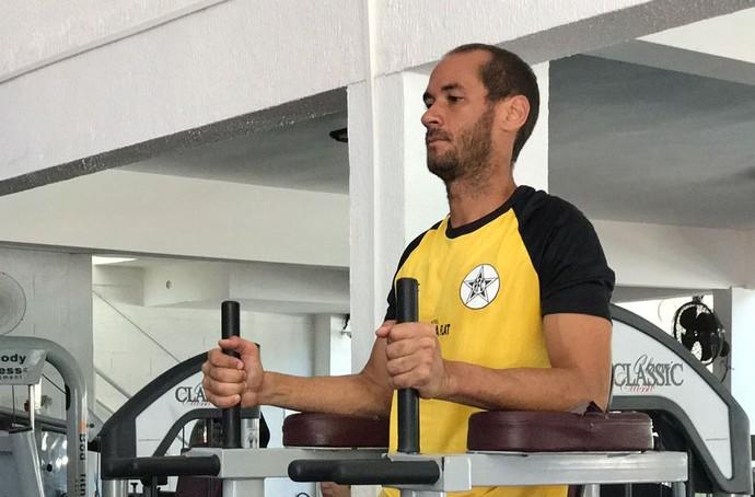 Rodrigo Souto vai vestir a camisa do Resende em 2017 (Foto: Divulgação)