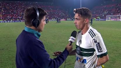 Neto Berola lamenta escolhas erradas nas finalizações: