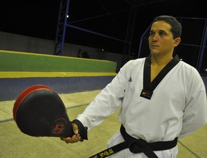 Júmior Coimbra - Taekwondo - Piauí (Foto: Josiel Martins/GLOBOESPORTE.COM)