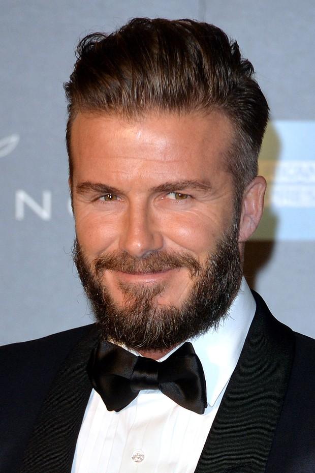 David Beckham: rindo à toa na aposentadoria (Foto: Getty Images)