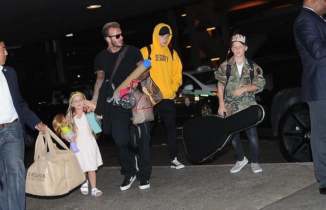 Família Beckham (Foto: AKM-GSI)