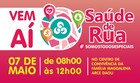 Saúde de Rua  - 2016; veja a programação (Rede Amazônica)