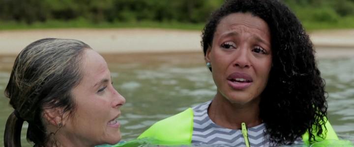 Mulheres Espetaculares: Grávida, Sheron encara desafio no mar