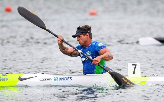 Fernando Fernandes no Mundial de Paracanoagem (Foto: Reprodução / Facebook)