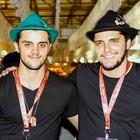 Atores e Miss Mundo SC curtem festa  (David Collaço/Divulgação)