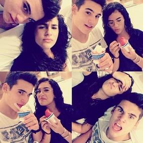 Livian Aragão e namorado (Foto: Instagram / Reprodução)