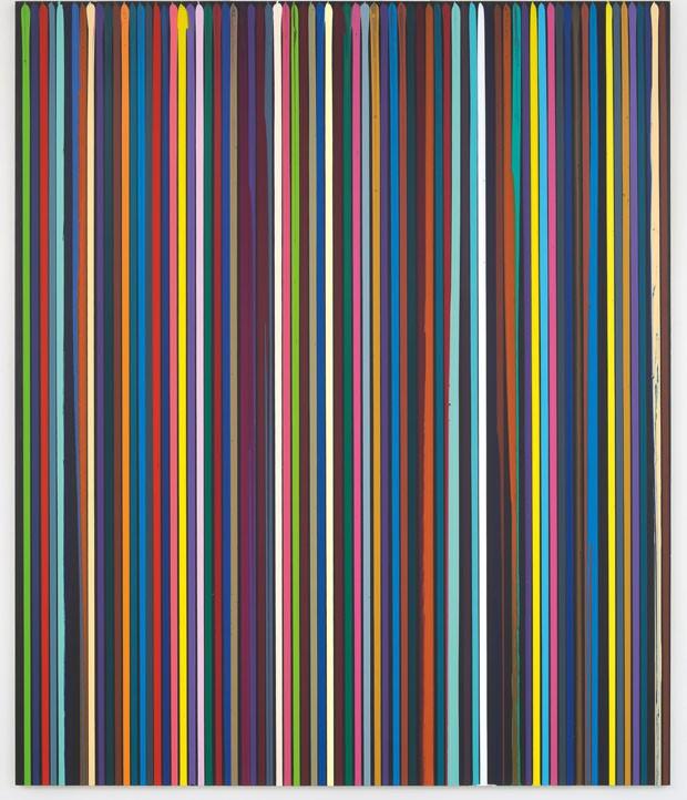 As cores de Ian Davenport (Foto: Divulgação)
