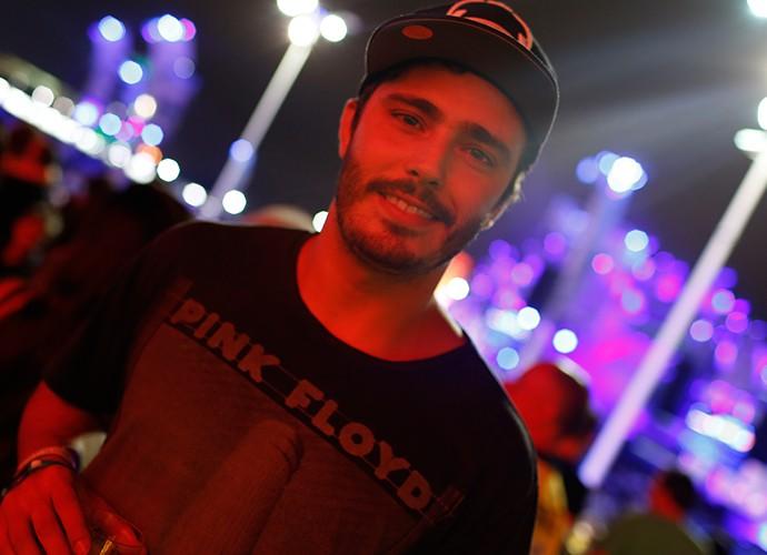 Thiago Rodrigues no RiR (Foto: Jonas Feitosa/Gshow)