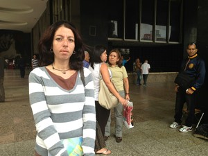 Estudante universitária Deborah Penaloza  (Foto: Leo Campos)