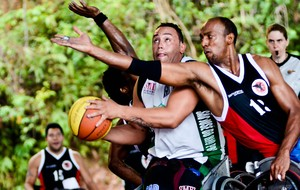 Luciano Felipe da Silva, basquete em cadeira de rodas (Foto: Divulgação)