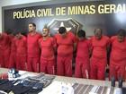 Polícia de MG prende 12 suspeitos de explosão de caixas eletrônicos