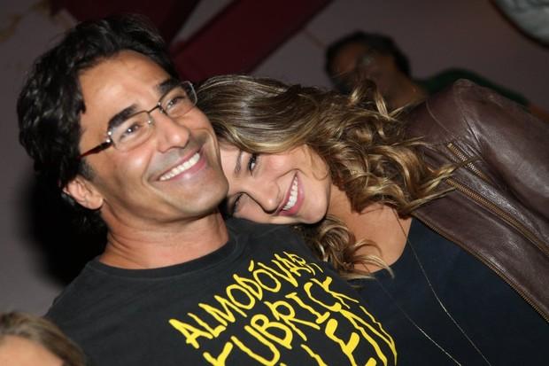 Sasha e Luciano Szafir em estreia d eteatro no Rio (Foto: Claudio Andrade/Fotorionews)
