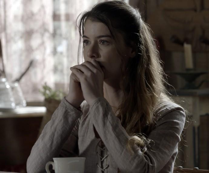 Lívia diz que se for preciso, ela muda de cidade para ficar longe de Felipe (Foto: TV Globo)