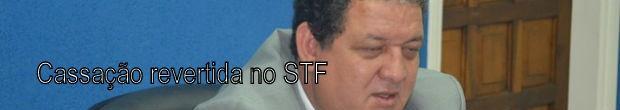 Cassação do prefeito de Leme é revertida no STF (Foto: Reprodução/ EPTV)
