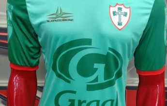 Portuguesa estreia camisa comemorativa ao título de Portugal