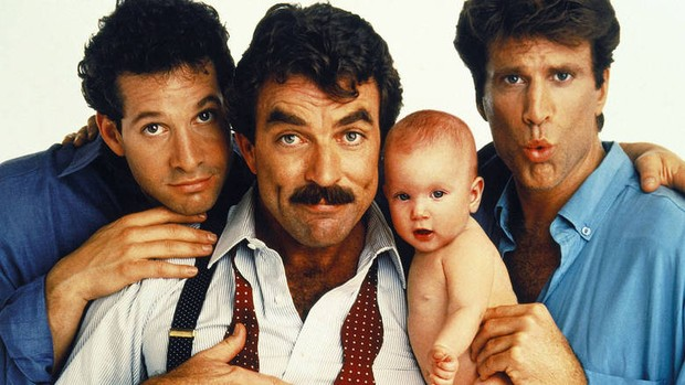 Três Solteirões e um Bebê (Foto: Divulgação)