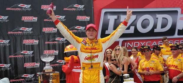 Ryan Hunter-Reay Fórmula Indy (Foto: Dennis Ashlock / divulgação)