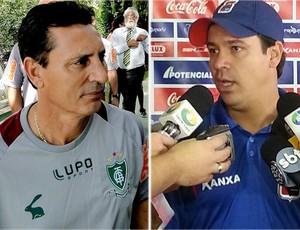 Paulo Comelli, América-MG, Dado Cavalcanti, Paraná Clube (Foto: Globoesporte.com)