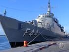 Fragata da Marinha é aberta para visitação