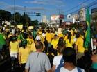 Em MS, atos contra governo Dilma e corrupção reúnem manifestantes