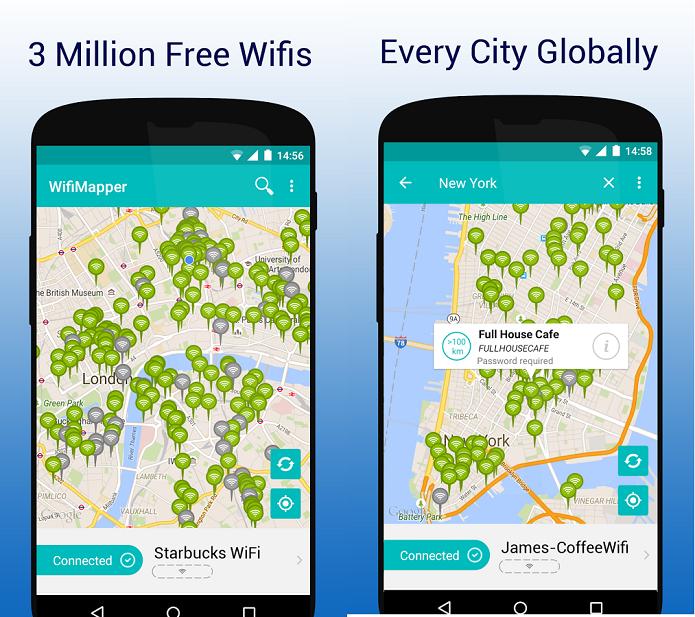 Aplicativo permite que usuários compartilhem senhas de Wi-Fi em todo o mundo (Foto: Divulgação/WifiMapper)