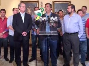 Governador defendeu não haver motivo para impedimento da chefe de Estado (Foto: Reprodução)