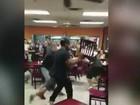 Clientes provocam pancadaria em restaurante mexicano em Dallas