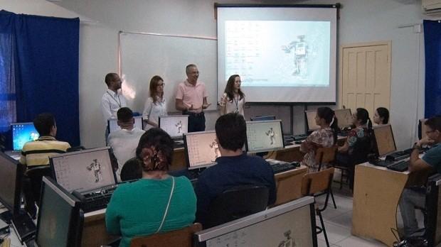 Parceria investe em modelagem industrial para o setor têxtil  (Foto: Divulgação)