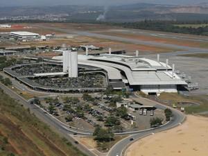 Aeroporto de Confins, em Minas Gerais (Foto: Acervo Infraero)