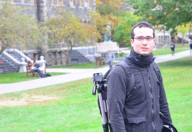 O historiador pernambucado Bruno Véras atualmente faz doutorado na Universidade de York, no Canadá (Foto: Arquivo pessoal/Bruno Véras)