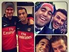 Craque brasileiro posta foto e homenageia David Beckham