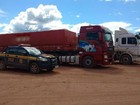 PRF aumenta fiscalização de veículos de carga em rodovia de Roraima