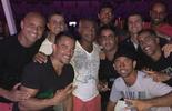 Romário fecha o carnaval em festa com Felipe no Maracanã  (Reprodução / Instagram)