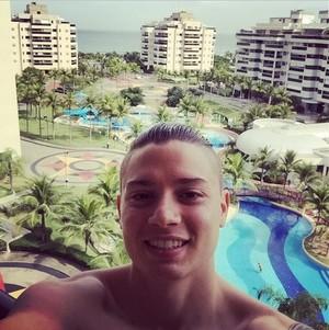 Adryan férias Rio de Janeiro (Foto: Reprodução Instagram)