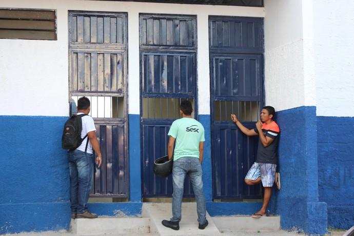 Altos treino no Lindolfo Monteiro  (Foto: Stephanie Pacheco)