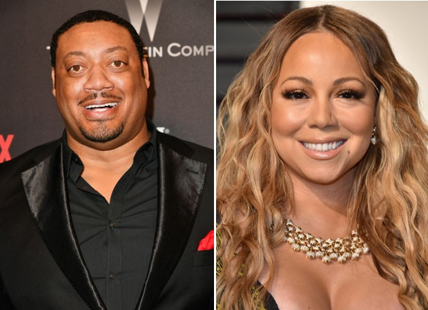 Cedric Yarbrough e Mariah Carey (Foto: Getty Images)