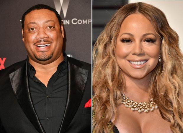 Cedric Yarbrough e Mariah Carey (Foto: Getty Images)