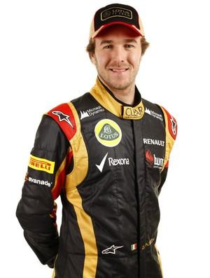 Davide Valsecchi, piloto reserva da Lotus (Foto: Divulgação)